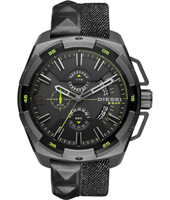 DZ4420 Heavyweight 50mm XXL steel chronograph with date