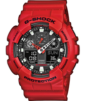 51.20mm Big Red Ana-Digi G-Shock Watch