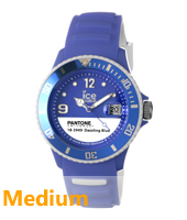 Ice-Pantone Dazzling Blue watch