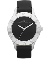 Blade  40mm Large Black & Silver Ladies Watch