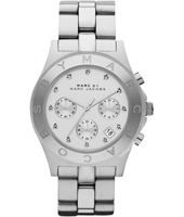 Blade 40mm Silver Ladies Chronograph