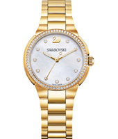 City Mini 31mm Gold watch with crystals