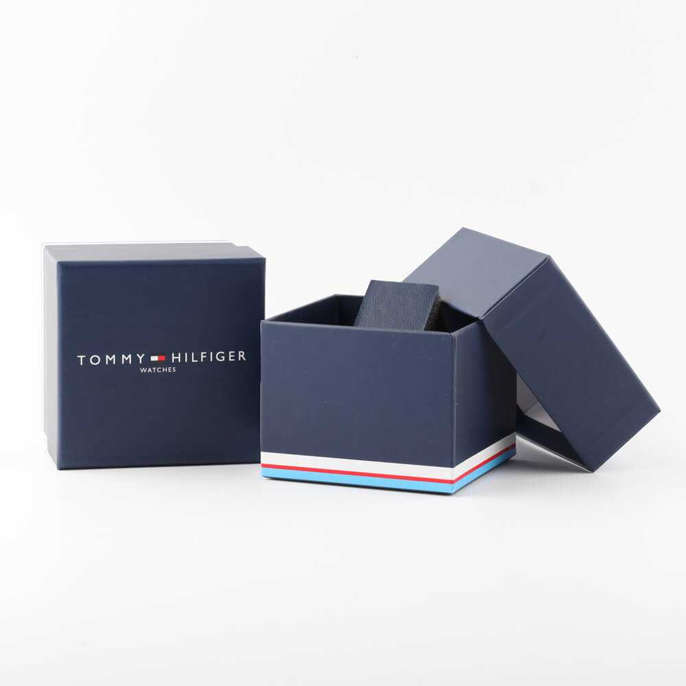 Minimalist Gents Watch with extra Leather Strap Collezione Autunno / Inverno Tommy Hilfiger