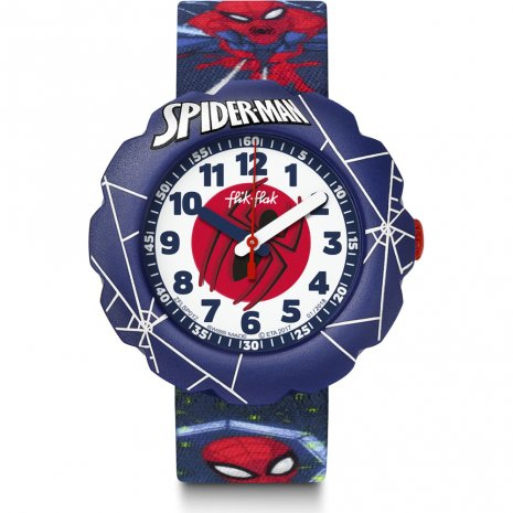 Flik Flak Spider-Man In Action orologio