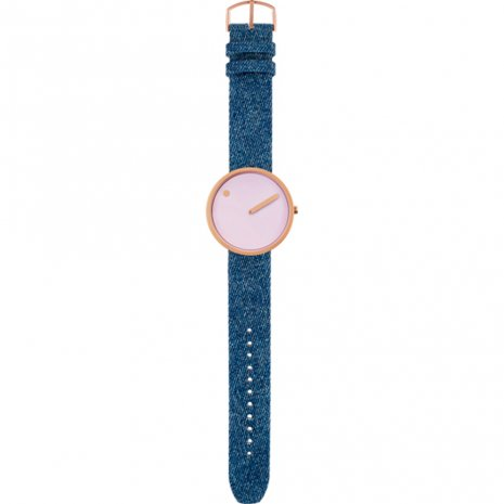 Rose Gold Design Watch Medium Size Collezione Autunno / Inverno Picto